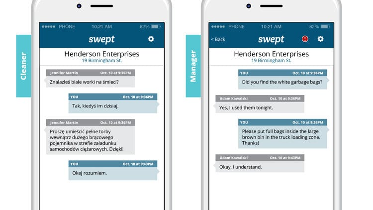 Swept Releases Enhanced Translation