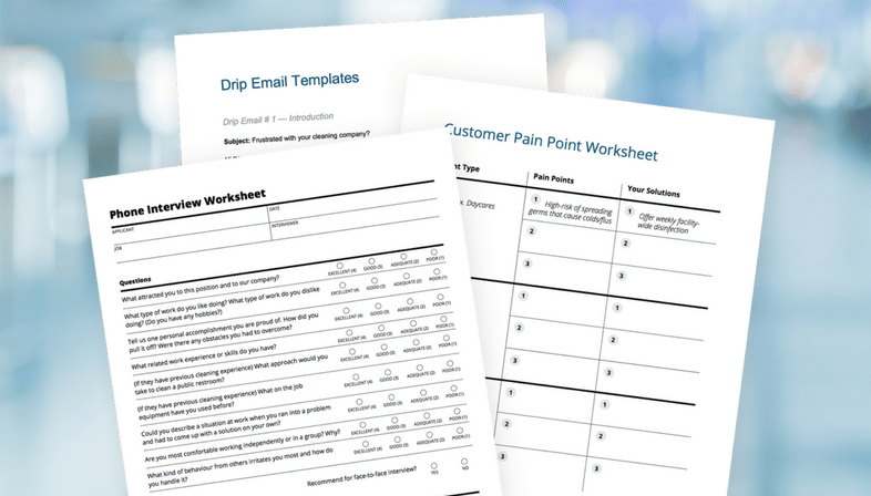 Janitorial Business Templates
