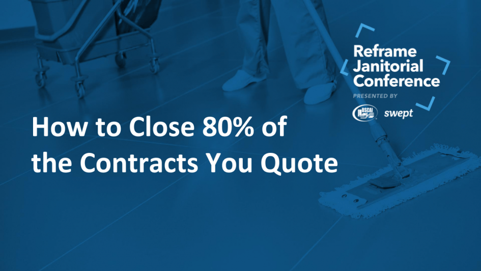 Watch Now: How to Close 80% of the Contracts You Quote