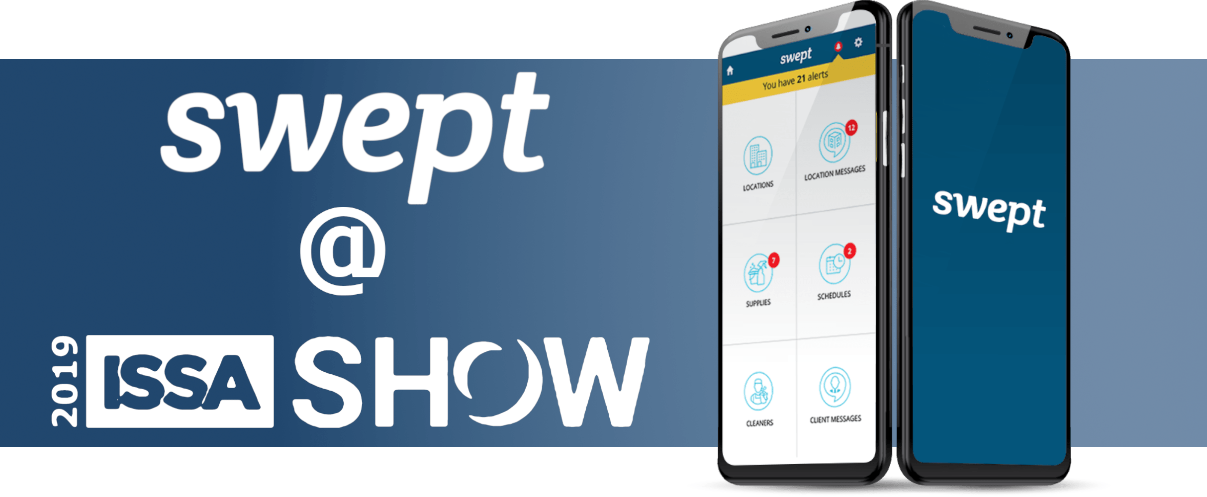 Look Forward to Fun News From Swept, Live From ISSA 2019