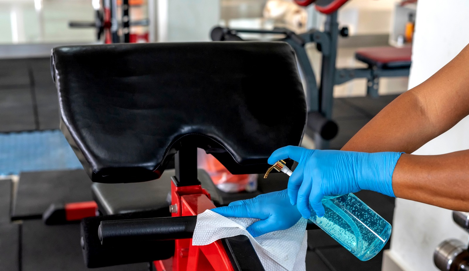 10 Facts About Cleaning Fitness Centers