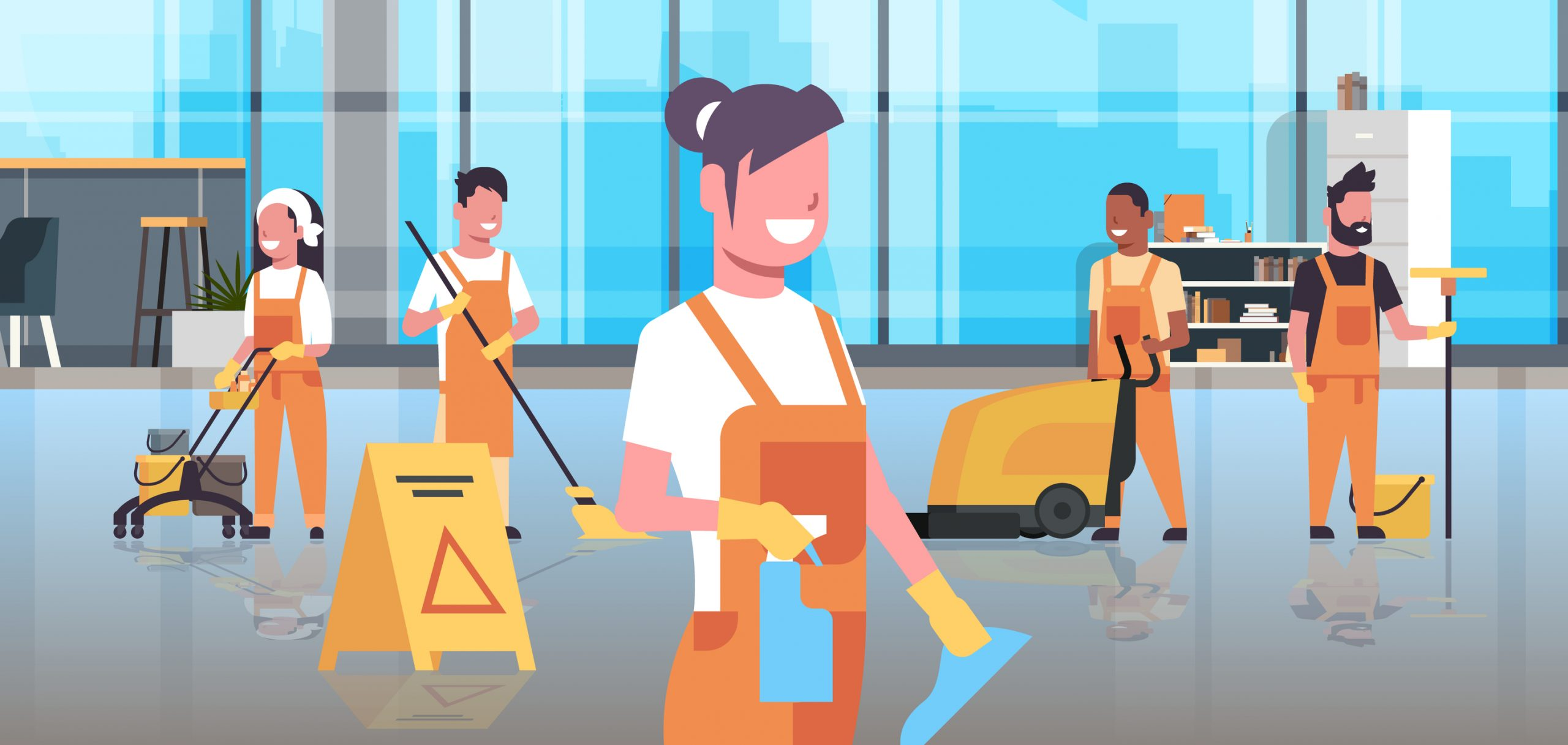 How To Deal With The Challenges Of Hiring Professional Cleaners: COVID-19 Reopening